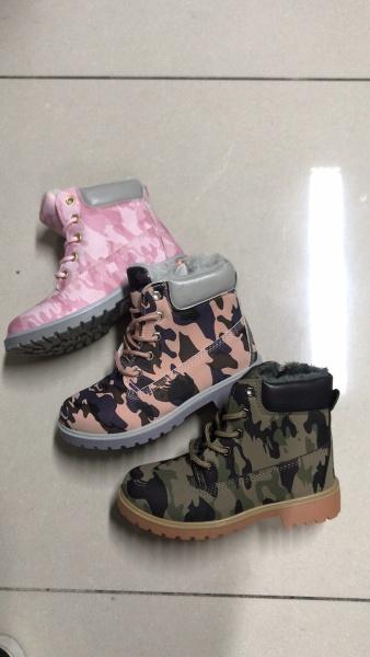 Dívčí a chlapecká zimní kotníčková obuv (28-35)