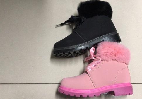 Dívčí  zimní kotníčková obuv (30-35)