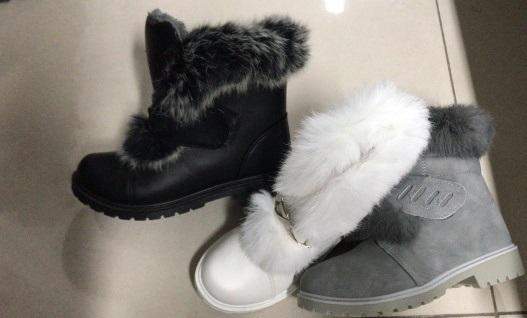Dívčí zimní kotníčkové obuv  (31-36)
