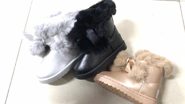Dívčí  zimní kotníčková obuv (28-30)