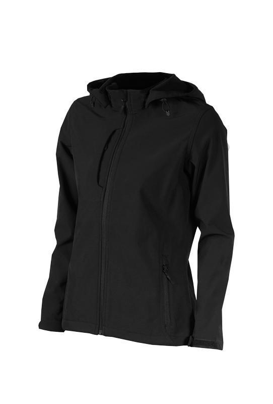 Dámská softshellová bunda s kapucí Lambeste (M-XXL)