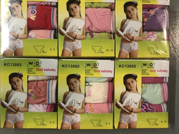 Dívčí spodní kalhotky W.D.(2-10 let)