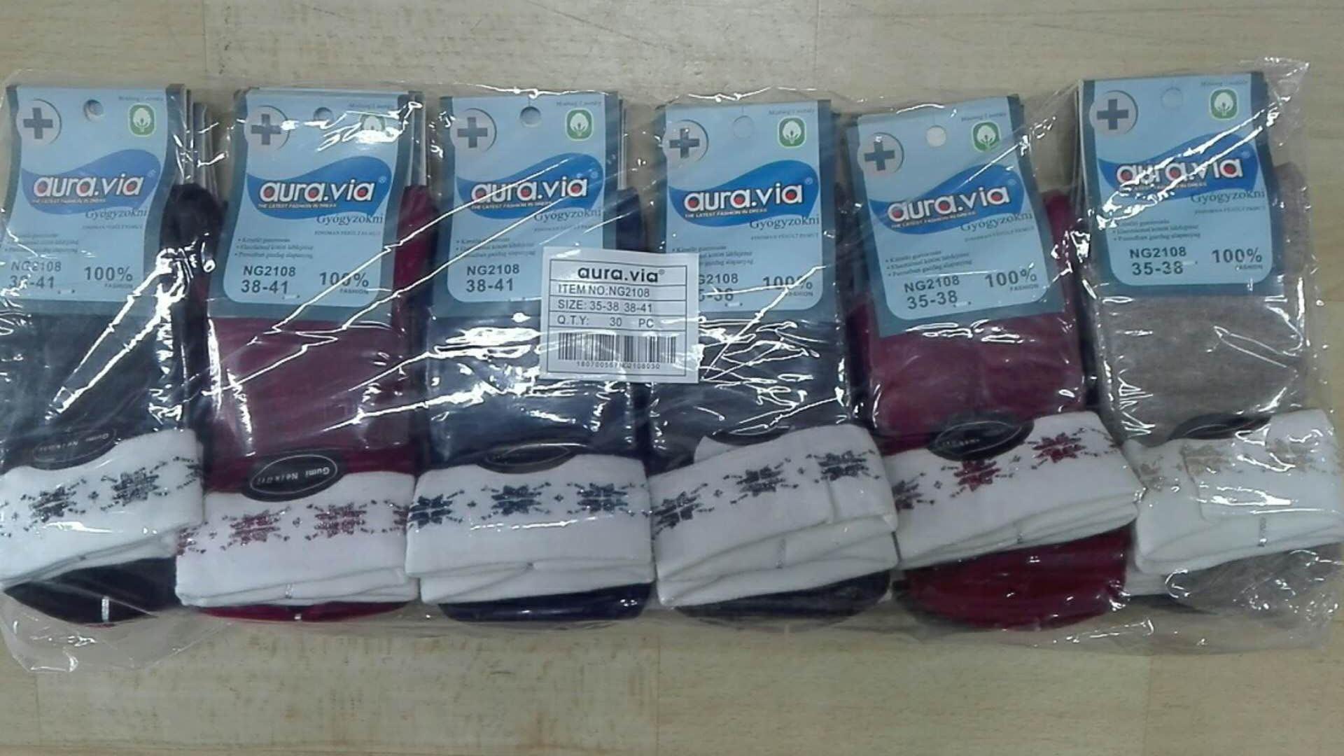 Dámské zdravotní ponožky AURA-VIA (35-41)