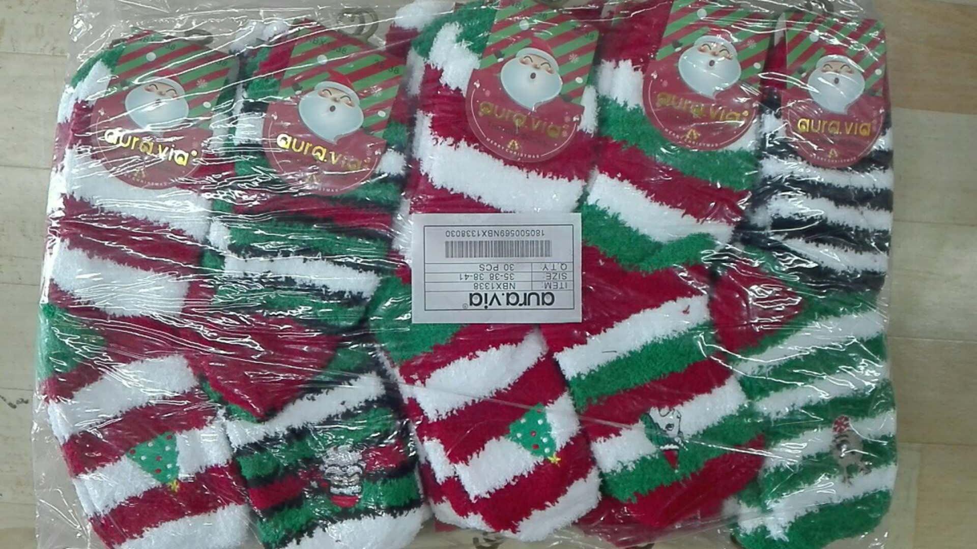 Dámské vánoční thermo ponožky AURA-VIA (35-41)
