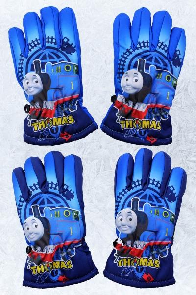 Chlapecké lyžařské prstové rukavice  THOMAS(3-8 let )