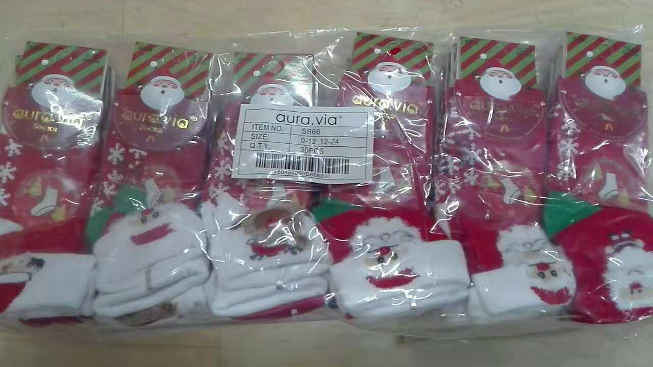 Kojenecké thermo vánoční ponožky AURA-VIA (0-12/12/24)