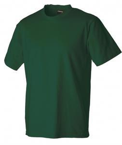 Pánské triko krátký rukáv U (S-XXXL) tmavě modré