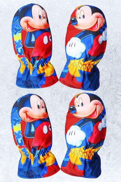 Chlapecké palcové rukavice MICKEY  (3/4-5/6 let)