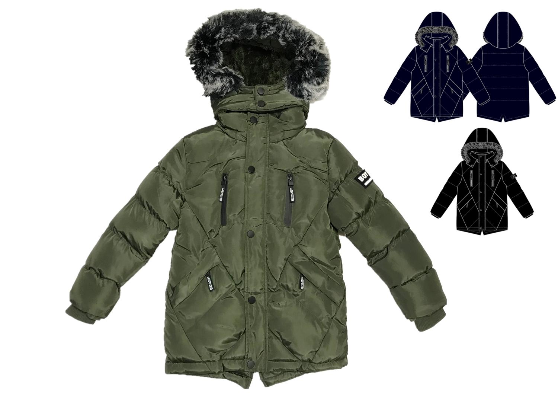 Chlapecká zimní bunda  KUGO (8-16 let)