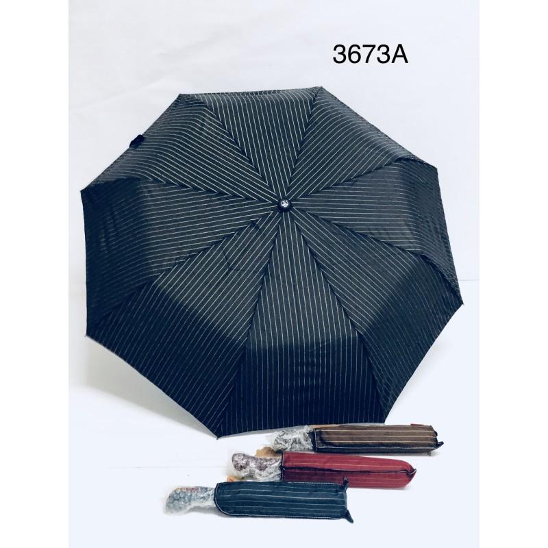 Pánský a dámský deštník jednobarevný pruhovaný