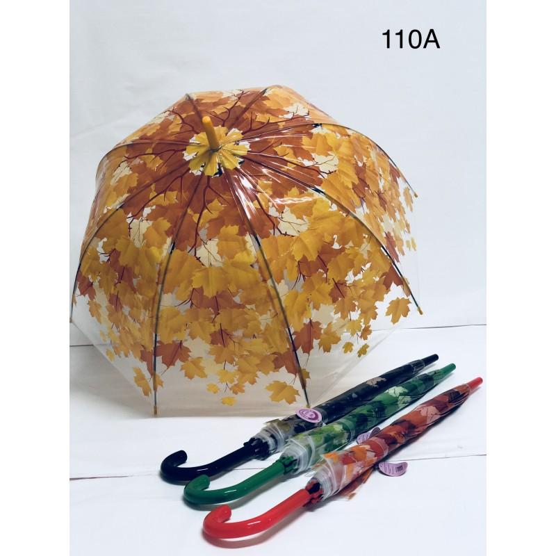 Dámský průhledný  deštník