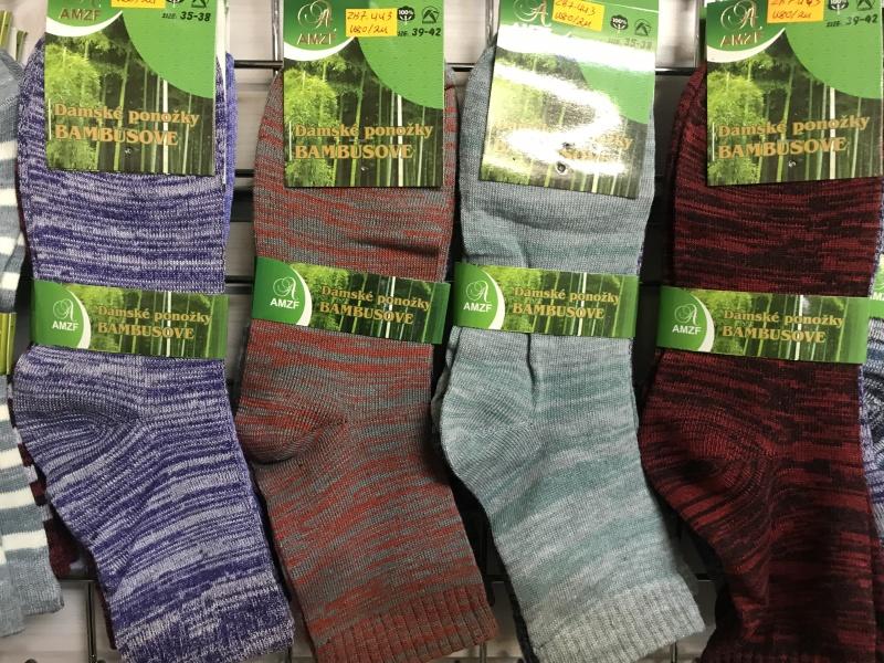 Dámské bambusové  ponožky AZMF (35-42)