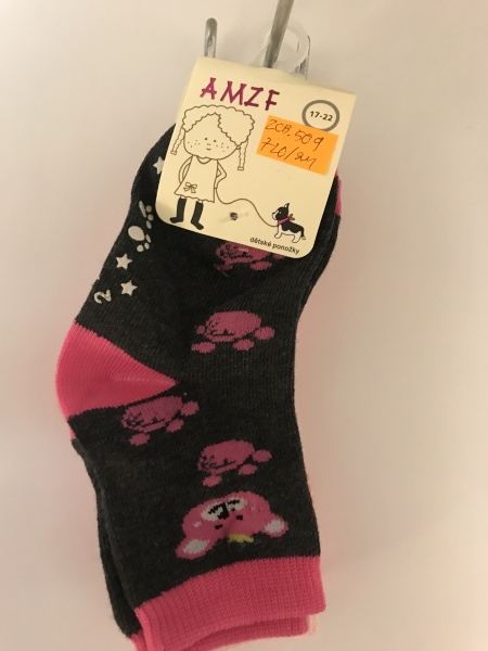 Dětské ponožky AMZF (17-26)