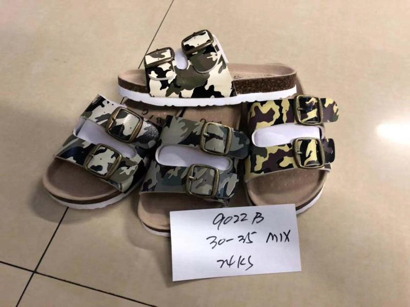 Dětské zdravotní maskáčové pantofle LISTAR (30-35)