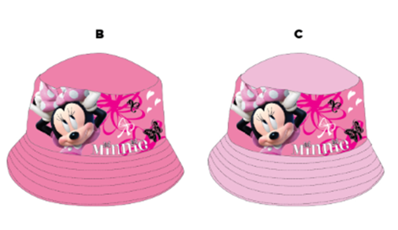 Dívčí klobouček MINNIE (52,54)