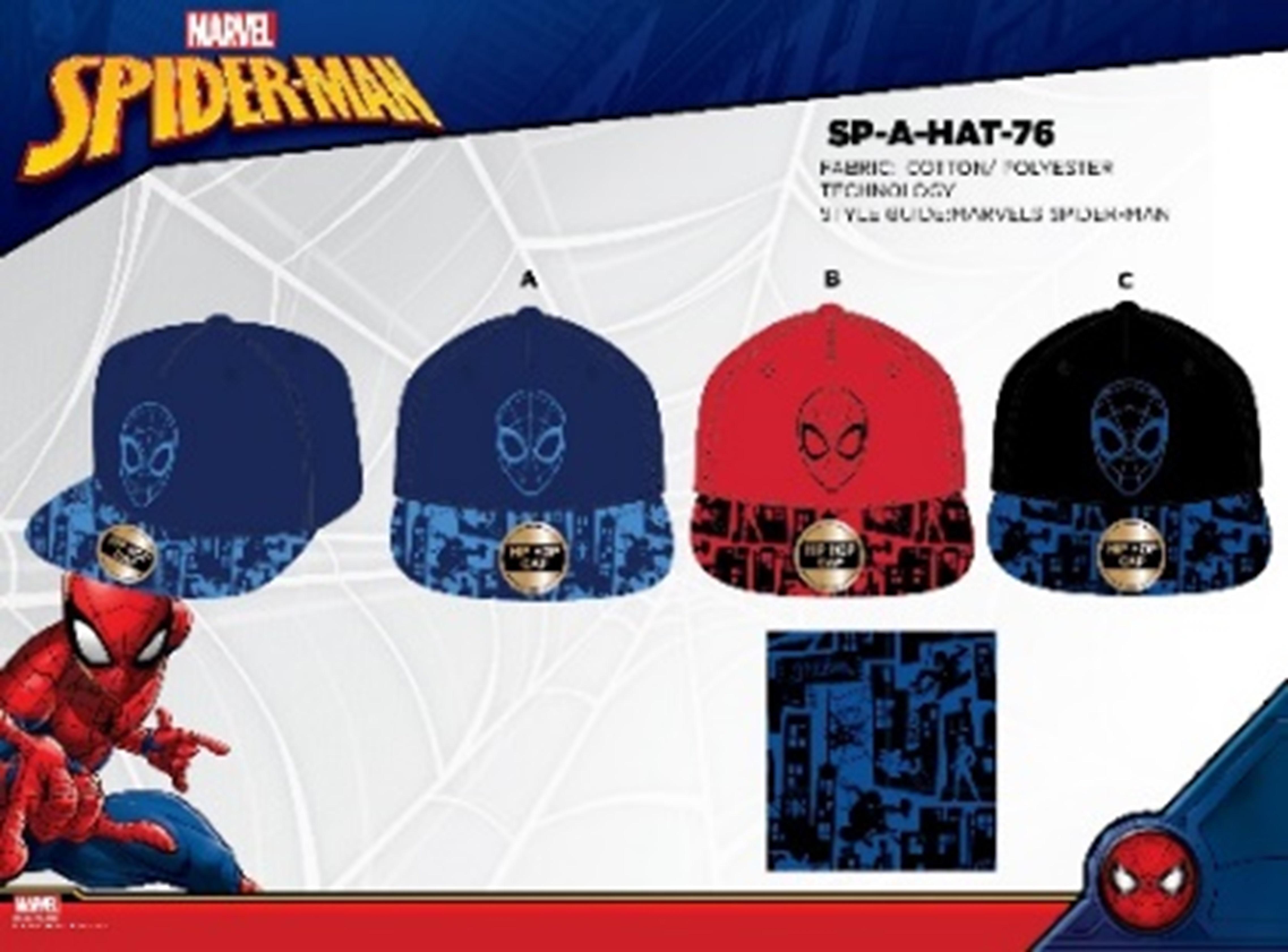 Chlapecká kšiltovka Spider Man (54-56)