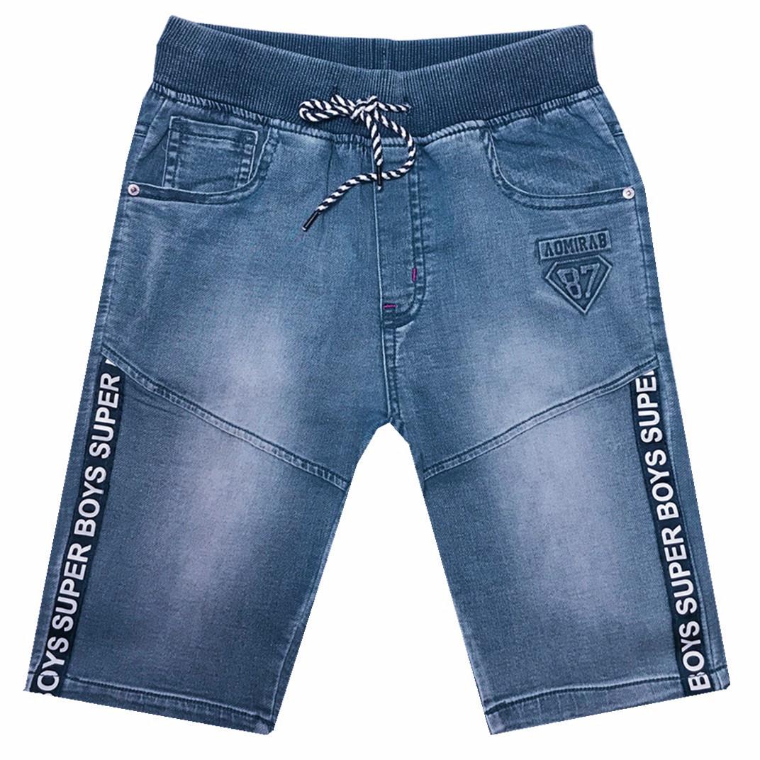 Chlapecké riflové 3/4 kalhoty  KUGO (134-164)