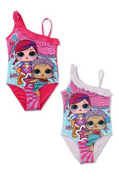 Dívčí jednodílné  plavky LOL (116-146)