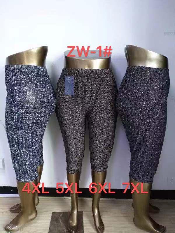 Dámské 3/4  letní kalhoty  ELEVEN ( 4XL-7XL)