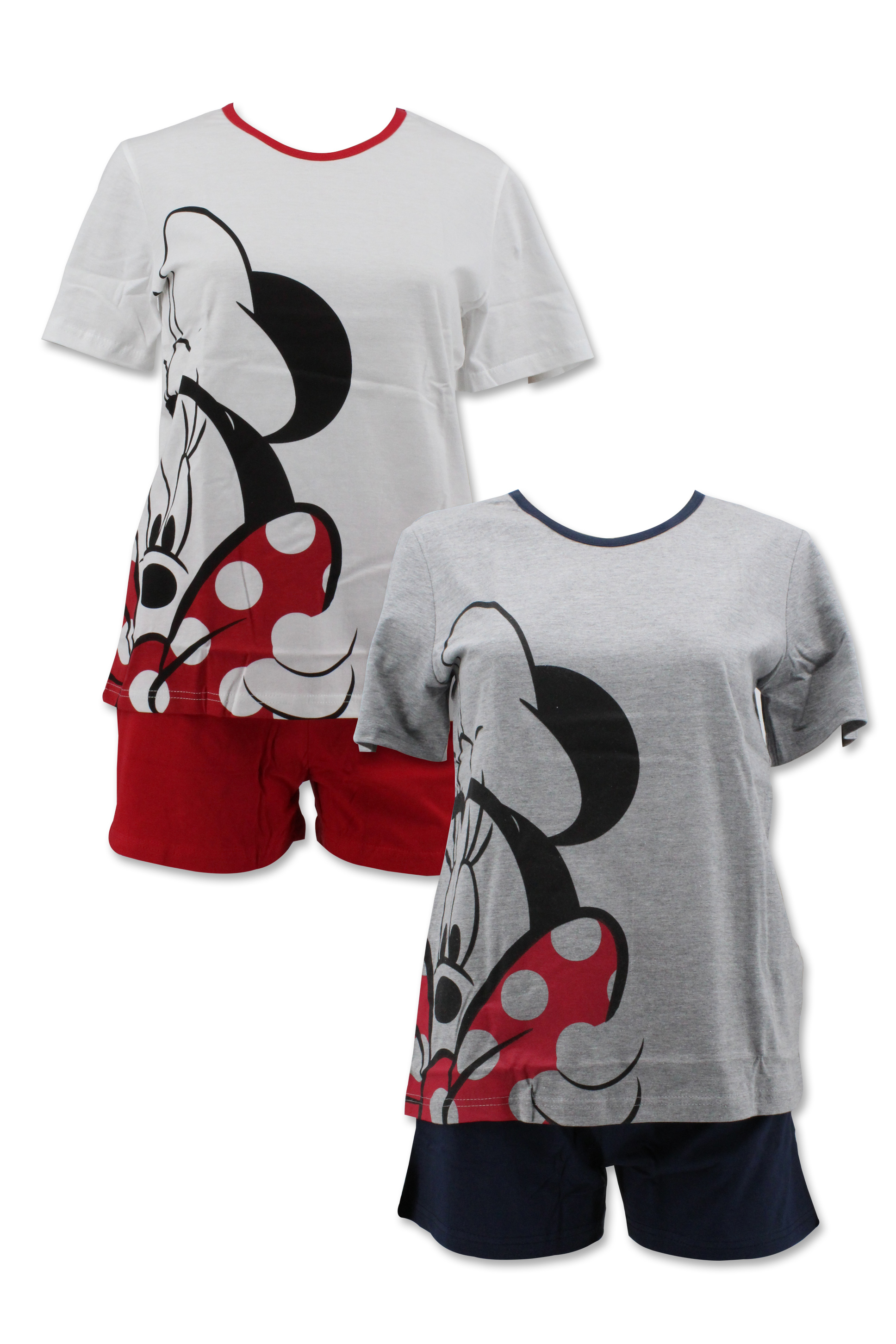 Dámské letní pyžamo s krátkým rukávem MINNIE (XS-XL)