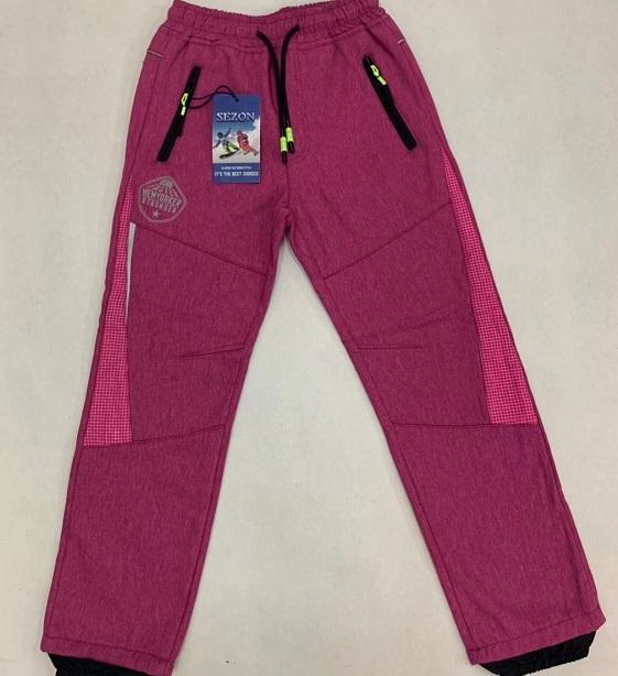 Zateplené outdoorové kalhoty  SEZON (116-146)