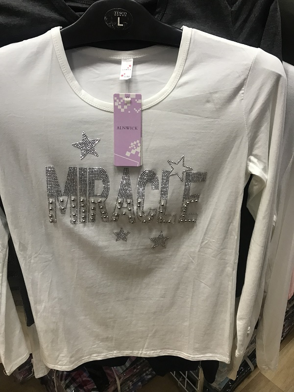 Dámské triko s dlouhým  rukávem  (S/M-L/XL)