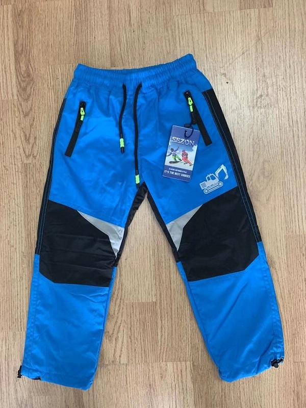 Zateplené šusťákové kalhoty  SEZON (80-110)