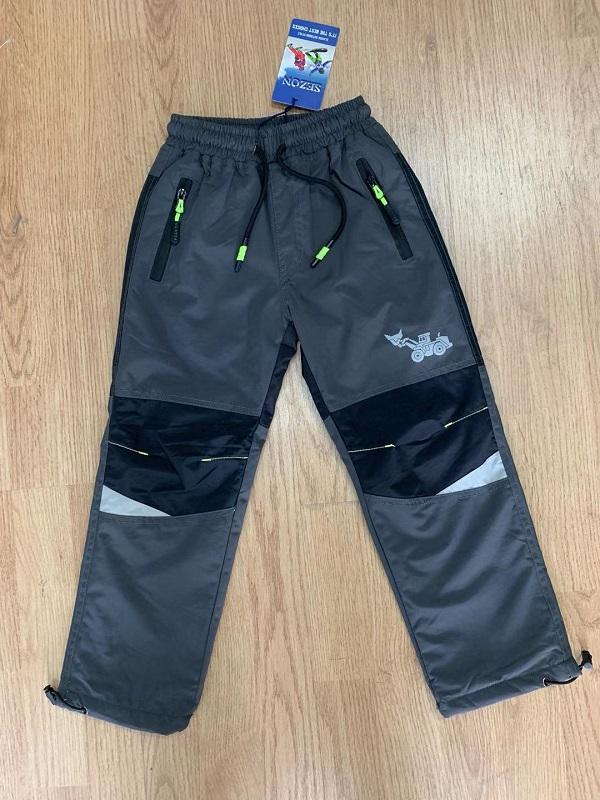 Zateplené šusťákové kalhoty  SEZON (98-128)