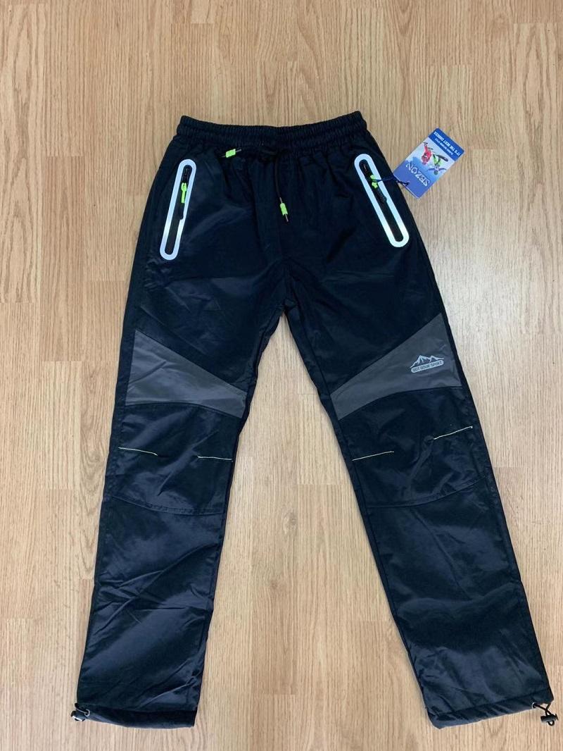 Zateplené šusťákové kalhoty  SEZON (134-164)