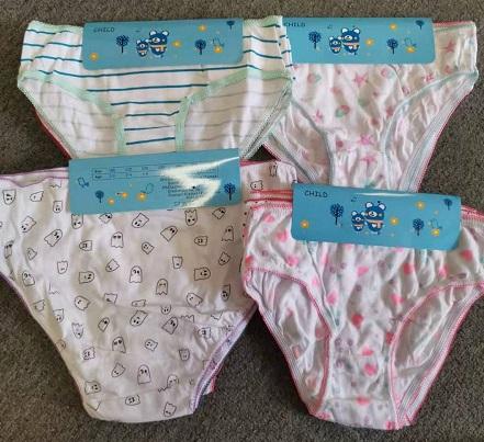 Dívčí spodní kalhotky (2/3-12/13 let)