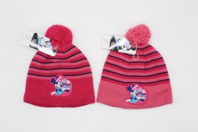 Dívčí zimní čepice MINNIE (vel.54,56cm)
