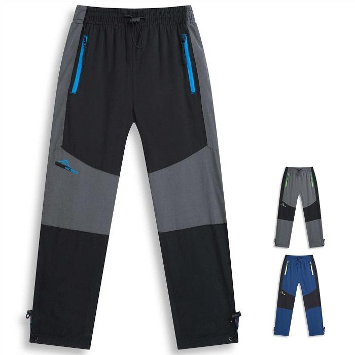 Dětské zateplené outdoorové kalhoty KUGO (116-146)