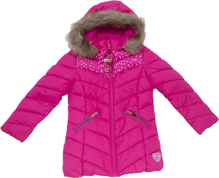 Dívčí  zimní bunda  WOLF (116-146)