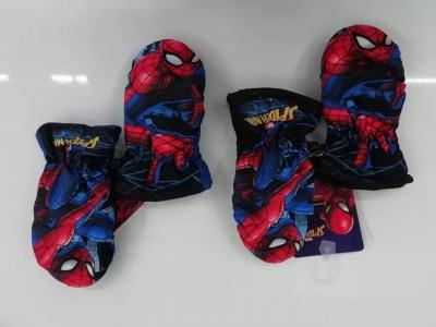 Chlapecké palcové rukavice  SPIDER MAN3/4-5/6)