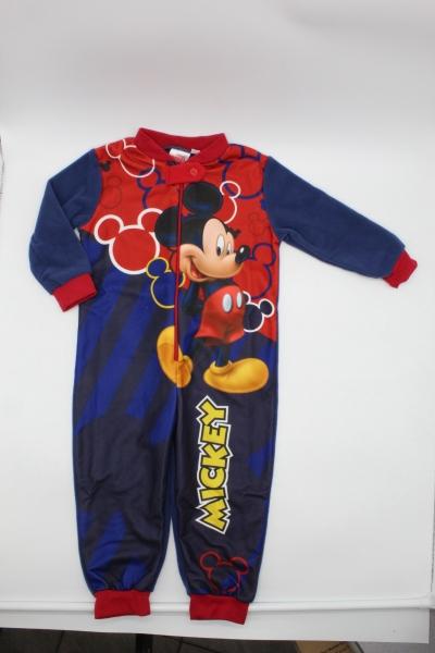 Chlapeckéteplé  pyžamo / overal MICKEY (vel. 98-128cm)