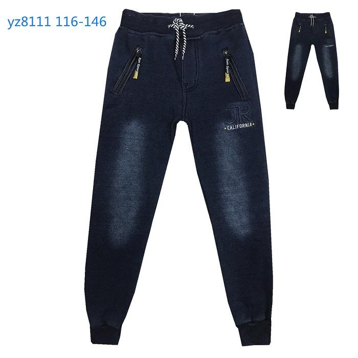 Chlapecké riflové teplé kalhoty   KUGO (116-146)