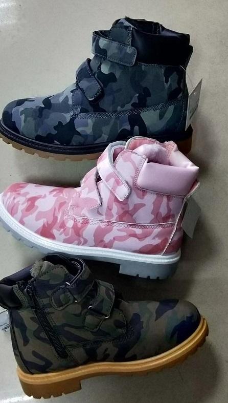 Dětské (farmářky) zimní kotníčková obuv (30-35)