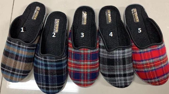 Dámské domácí  pantofle- bačkory (37-41)
