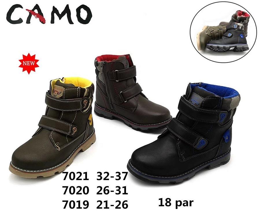 Chlapecká zimní kotníčková obuv (32-37)