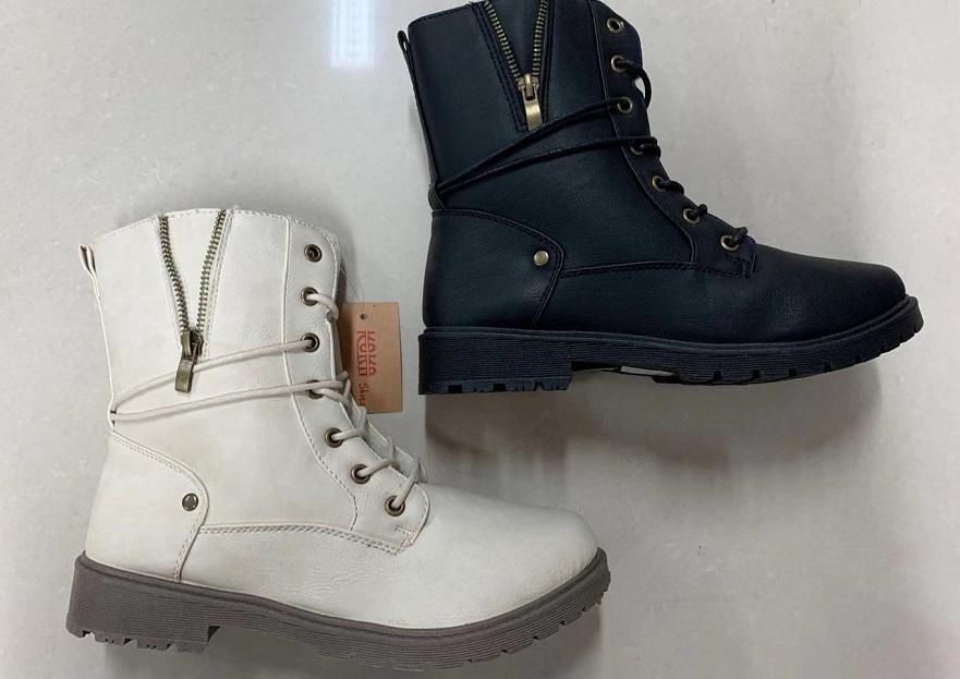 Dámská vyteplená  zimní obuv, kozačky  (36-41)