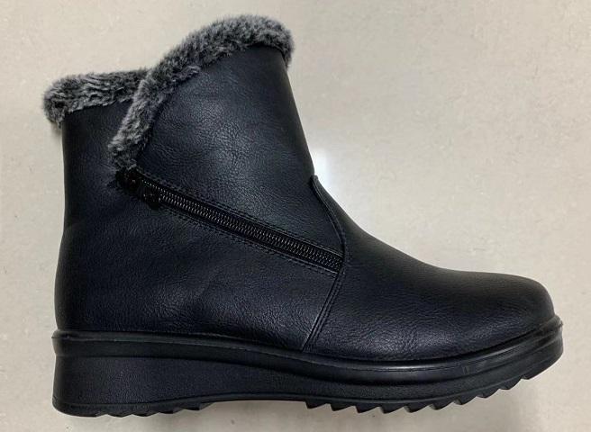 Dámská vyteplená  zimní obuv, kozačky  (37-42)