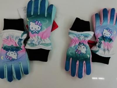 Dívčí zimní prstové rukavice MINNIE (3-8let)