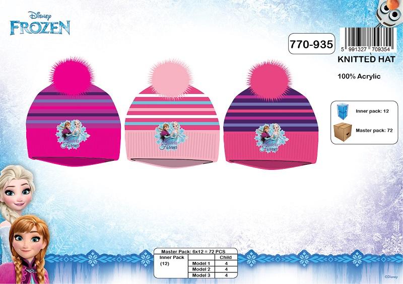Dívčí zimní čepice FROZEN  (UNI )