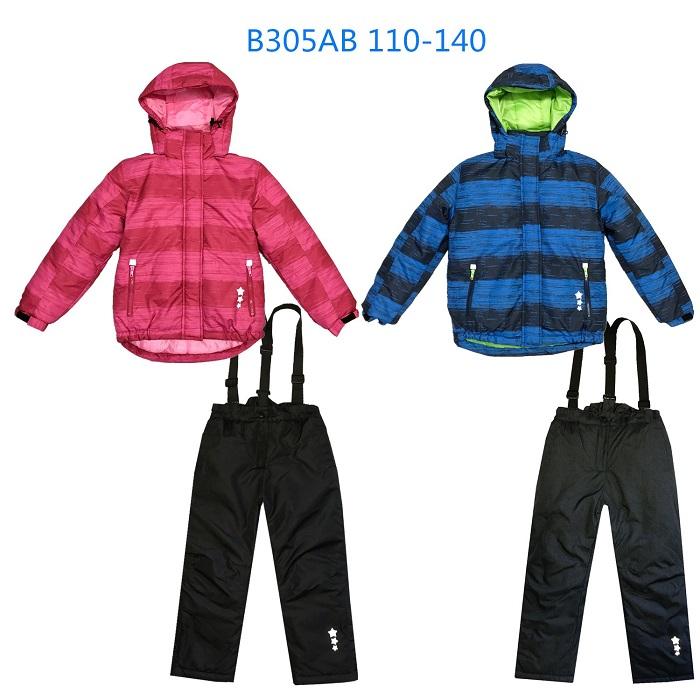 Dětský zimní komplet bunda + oteplováky KUGO (104-134)