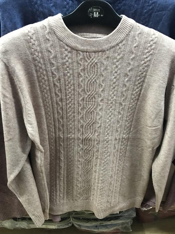 Dámský svetr s dlouhým  rukávem  (M/L-2XL)