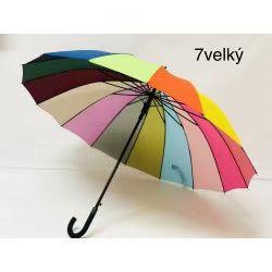 Dámský velký  holový deštník