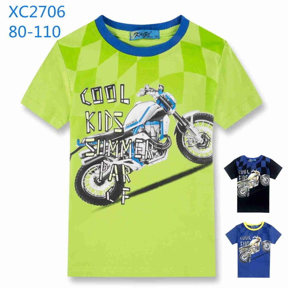 Chlapecké triko s krátkým rukávem  KUGO (80-110)