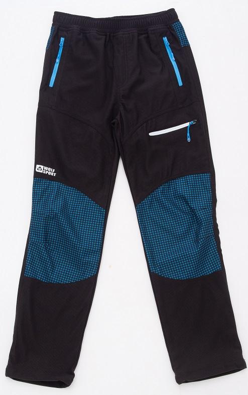 Chlapecké manžestrové kalhoty WOLF (116-146)