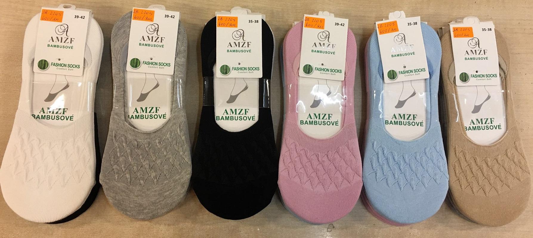Dámské bambusové ťapky (ponožky) AZMF (35-42)