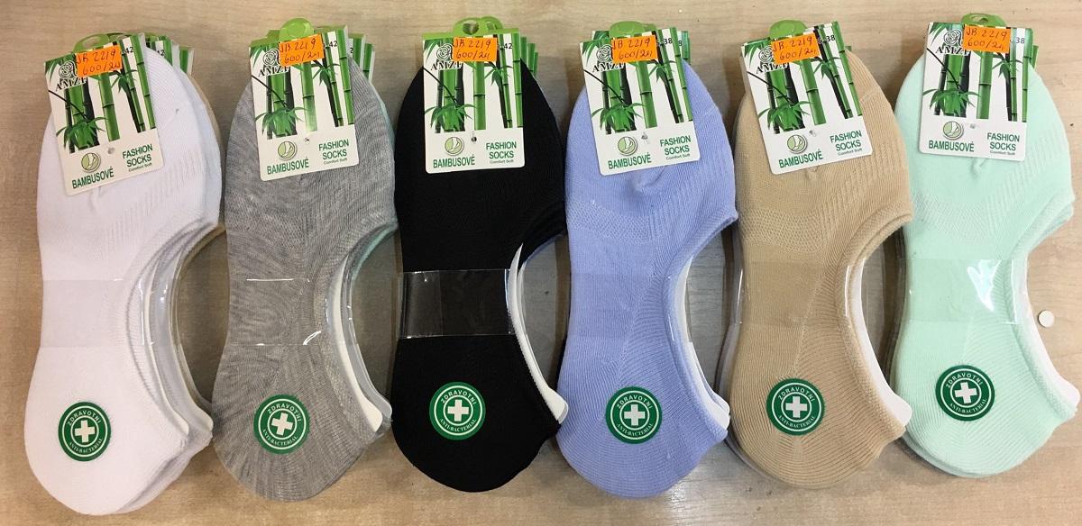 Dámské zdravotní bambusové ťapky (ponožky) AZMF (35-42)